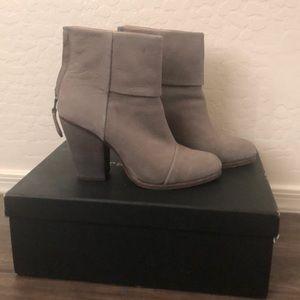 Rag & Bone gray booties 38.5